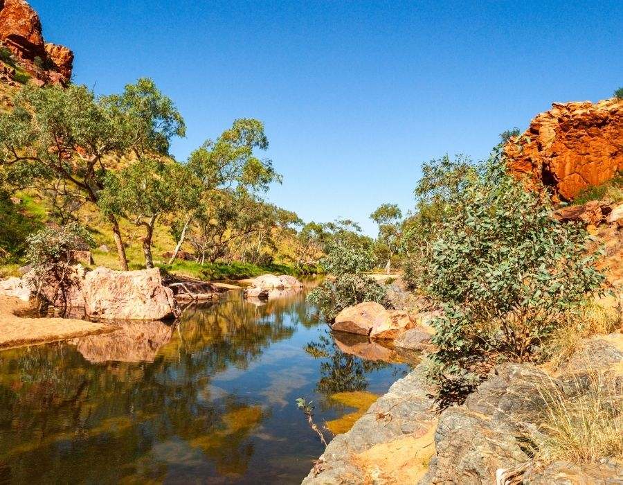 river in NT